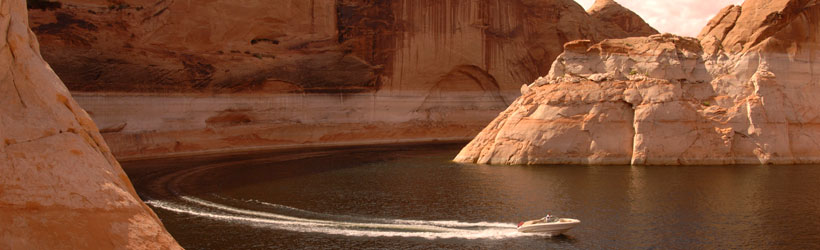 The Red Cliffs of Lake Powell