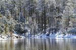 Goldwater Lake Snow