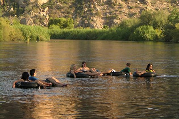 Floating the Salt River