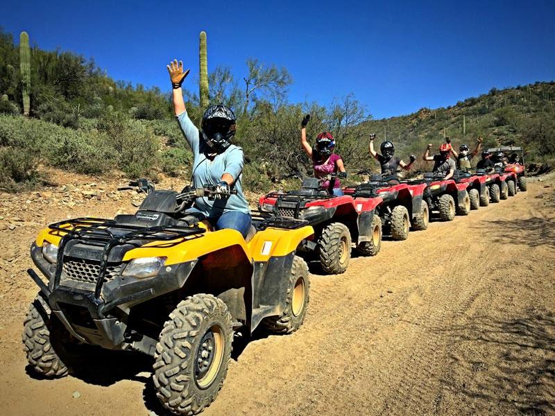 Guided ATV Desert Tour - 3 Hours