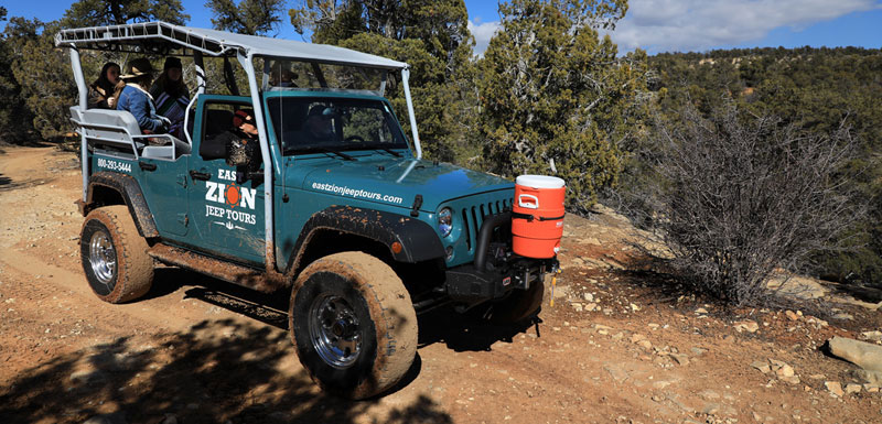 East Zion Jeep Tours