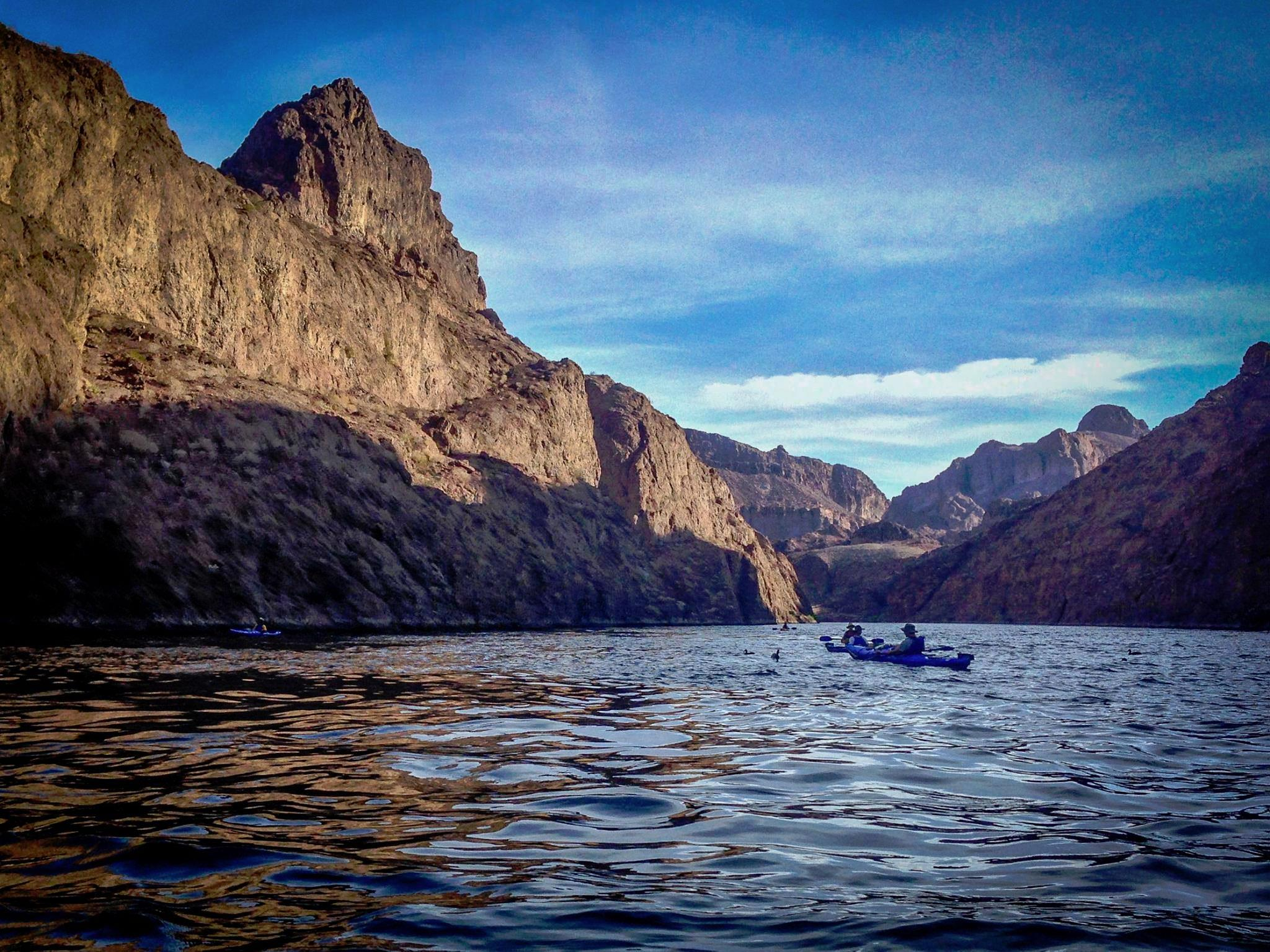 Multi-Sport Tours: Havasu Falls Hiking / Black Canyon Kayaking