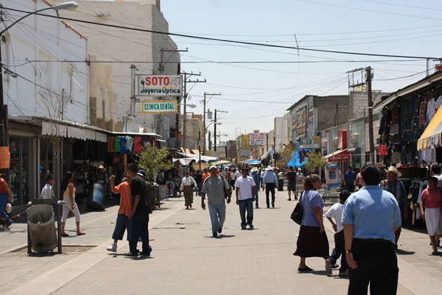 Juarez Shopping District