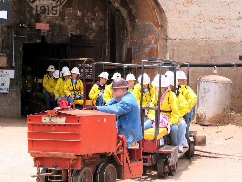 Queen Mine Tour
