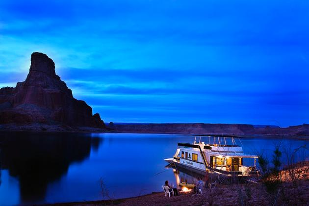 Lake Powell Houseboating
