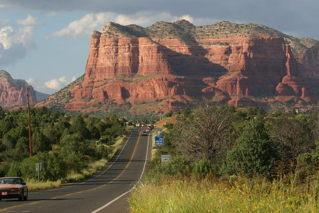 Road to Courthouse Butte
