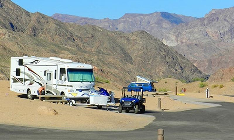 Willow beach rv park and campground for Laughlin cabins