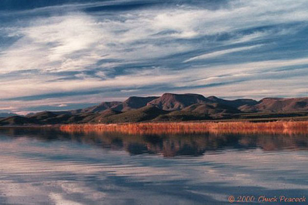 Roosevelt Lake reflection