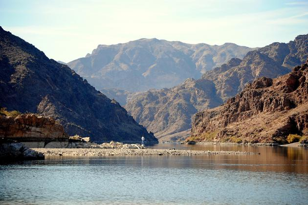 Fishing in the Colorado River