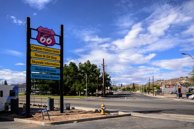 Along Historic Route 66