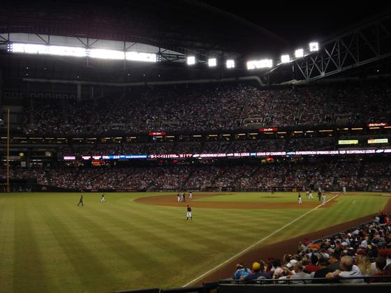 Arizona Diamondbacks Game at Chase Field