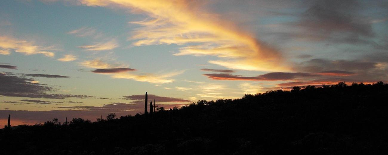 Sunset Over Hassayampa River